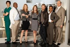 Body of Proof with Dana Delaney and Jeri Ryan.   Medical examiner crime show.