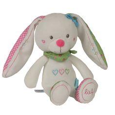 lief! lifestyle knuffel konijntje wit | soft toy pluche bunny white | babies & toddlers | kids