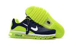 wholesale dealer e4f92 8da61 1884   Nike Air Max 2017 Herr Fluorescent Navy Grön Vit SE115587LUrNv  Tenis, Zapatos,