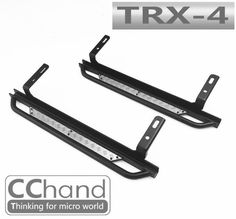 RC Parts Crawler Car Side Metal Skid Plate Pedal For 1/10 TRAXXAS Trx-4 Trx4 T4 Upgrade Parts