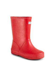 Hunter Unisex First Rain Boots - Walker, Toddler, Little Kid