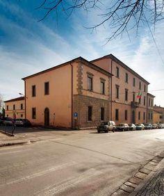 Roccastrada city hall restoration Grosseto IT
