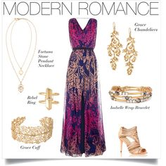 We're in love with Modern Romance. Complete your look with a long lace evening dress and Stella & Dot jewels! Shop at www.stelladot.com/nicolecordova