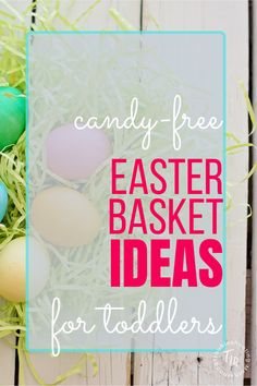 The expectation for lots of candy on Easter is high! But that doesn't mean you only need to give your toddlers candy in their Easter Basket. This is a list of great non candy Easter Basket Ideas for your Toddler. Easter Baskets For Toddlers, Easter Activities For Kids, Toddler Presents, Toddler Gifts, Easter Story, Easter Traditions, Free Candy, Easter Candy, Painting For Kids