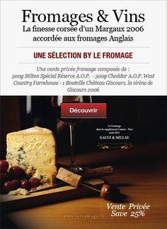 Fromage Anglais et vin français:  Un assortiment olympique