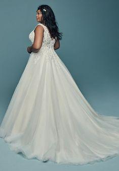 Maggie Sottero Eden Ivory Size 26 DISCONTINUED SAMPLE ONLY Fitted Wedding Gown, Plus Size Wedding Gowns, Maggie Sottero Wedding Dresses, Wedding Bridesmaid Dresses, Perfect Wedding Dress, Dream Wedding Dresses, Designer Wedding Dresses, Bridal Dresses, Princess Ball Gowns