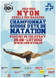 Championnats suisse natation 2012