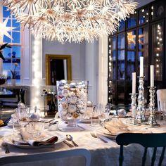 Haga su mesa shimmer   Navidad tabla de ajustes - 10 ideas   housetohome.co.uk