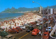 Vintage Rio de Janeiro - VW Beetle paradise