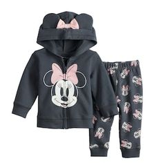 Disney's Mickey Mouse Baby Girl Top & Jogger Pants Set by Jumping Beans® | Kohls