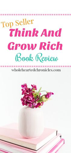 """Change your thoughts and your life with the book """"Think and Grow Rich"""". Click to read my book review and what I added to my morning routine to grow rich! Personal Growth 