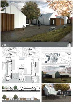 Studentský projekt. ZS 2013/2014. FSv ČVUT v Praze. Floor Plans, Atelier, Floor Plan Drawing, House Floor Plans