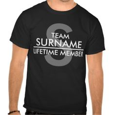 Custom Family Reunion Surname Shirts - Irony Designs Fun Shops ...