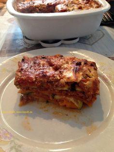 Zucchini-Möhren-Lasagne | kandil.de