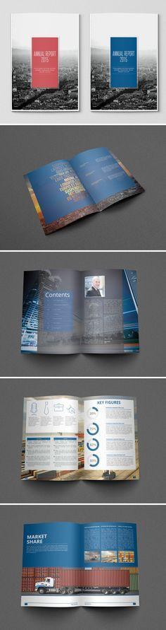 Free Annual Report Design Templates Annual Report Brochure - annual report template design