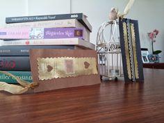 Kitap Ayracı - İğnedanlık - piece of cake #diybookmark #diypincushion #bookmark #pincushion