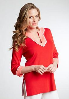 Anita Tunic in  Long Sleeve by Misook on CurvyMarket.com Plus Size