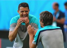 When those edibles finally hit you.   27 Cristiano Ronaldo Reactions For Everyday Situations