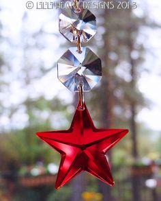 Made With Swarovski Crystal Vintage Siam Red by LilliHeartDesigns, $21.99