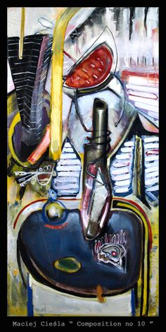 "Maciej Cieśla "" Still life no 10 "" Polish artist, painter.  #abstract #art #painter #painting #modernart #modern #artist #artwork #expressive #colour #color #colorfull #amazing #goodart #oilpainting #painted  Malarstwo Wrocław. Aukcje młodej sztuki. Polska młoda sztuka. Obrazy na sprzedaż. Galeria Wrocław. Sztuka współczesna, malarstwo współczesne. Galeria malarstwa. Malarstwo. Modern art for sale. Contemporary art. European artist."