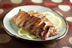 "Japanese-Style Grilled Fish recipe. ""Japanese-style marinade is not too acidic—it's the acid from citrus juices or vinegar that can ""pickle"" fish in minutes. Soy sauce and sake add a spirited flavor. Sugar and mirin, a sweet Japanese wine, give a glazed appearance to the finished dish. And fresh ginger makes it all come together."""