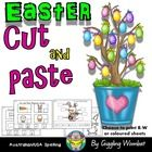 Easter Cut and Paste by Giggling Wombat | Teachers Pay Teachers