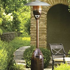 Deluxe Patio Heater. I don't know it the copper look would be better than the stainless steel look.