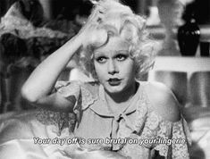 """ Bombshell (1933) """