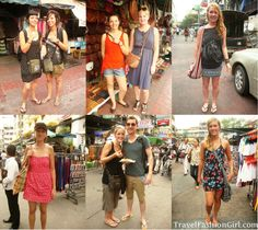 backpacker fun street style looks in bangkok #travel #fashion