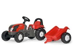 Rolly Valtra Pedal Tractor with Trailer