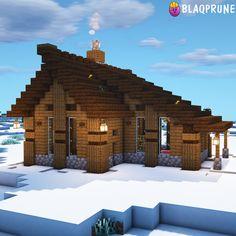 Minecraft Cabin, Minecraft House Plans, Minecraft Houses Survival, Minecraft Cottage, Easy Minecraft Houses, Minecraft House Tutorials, Minecraft Houses Blueprints, Minecraft House Designs, Amazing Minecraft