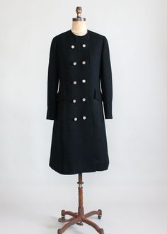 Vintage 1960s Rothmoor MOD Winter Coat