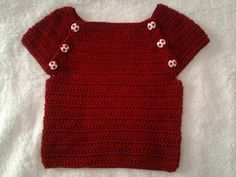 YouTube Crochet For Kids, Crochet Top, Crochet Hats, Baby Vest, Baby Cardigan, Crochet Baby Clothes, Knitting Videos, Chor, Pullover Sweaters
