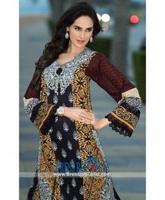 Pakistani Latest Designer Lawn Dresses 2015 Online By HSY