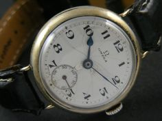 ANTIQUE OMEGA SUB SECOND WINDING SWISS MEN'S WATCH a9812
