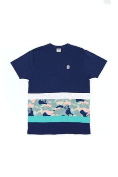 a7afdaa3ee9d4 Billionaire Boys Club COVER SNUB PANEL TEE - Billionaire Boys Club