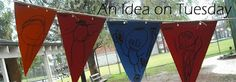 An idea on Tuesday: Making an Outdoor Bunting