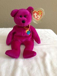 2a69c1cc836 TY Original Beanie Baby ~ 1999 Millennium -Retired