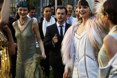 Elle France Enlists David Vasiljevic to Capture The Great Gatsby, Starring Camille Rowe