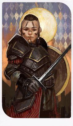 Fantasy Dwarf, Fantasy Warrior, Fantasy Rpg, Fantasy Girl, Fantasy Races, Dragon Age Origins, Dragon Age Inquisition, Dnd Characters, Fantasy Characters