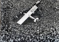 Lindberg Lands in Paris, 1927