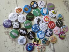 If you spot your order on our Social Media, get in touch &. let us know. So many badge designs to choose from on our website.