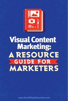 This article will help you find tools to create the perfect image, drive traffic and engagement with your images and use visual content to improve your marketing.