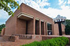 USA-Indiana-Columbus-Library
