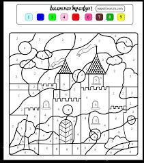 Resultado de imagem para coloriage numéroté princesse