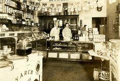 Cadys Food Shop, 1933. Nantucket Historical Association via Flickr.