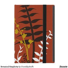 Botanical Simplicity iPad Mini Covers