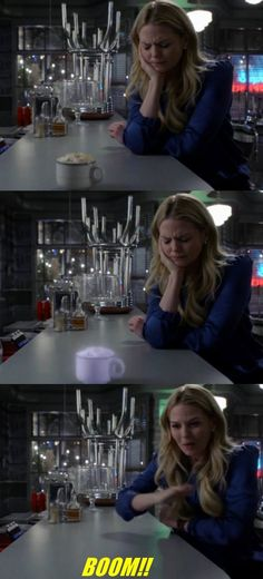 Love Emma when she finds out she can do magic like Regina. She's like a little kid in a candy store. xD