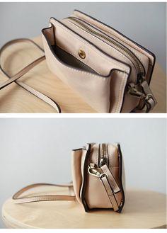 45a7a9b797 Cute Leather Womens Small Box Crossbody Bag Purse Zipper Shoulder Bag Cute Crossbody  Bags