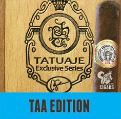 "It's no secret, Tatuaje creates a lot of limited edition cigars. It's also no secret that one blend stands above the rest in the heart of most die-hard Pete Johnson fans—that blend is the original Tatuaje TAA cigar created in 2011.    Pete has tinkered with the cigar's size and blend in past years, but now, for 2015, he has returned to the original cigar that started it all! Introducing the Tatuaje TAA 2015, a 5 5/8"" x 54 box-pressed bea"